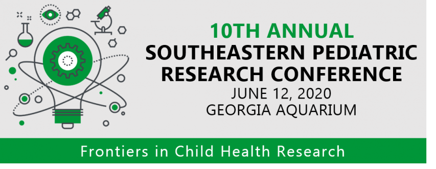 10th Annual Southeastern Pediatric Research Conference - CANCELLED Banner Photo